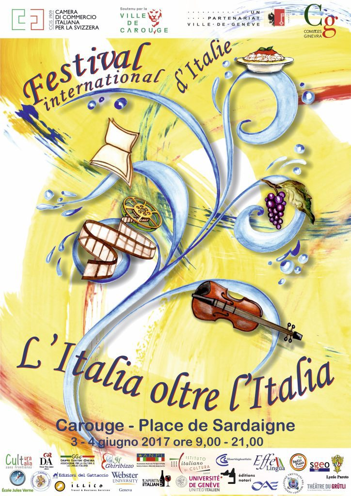 """FESTIVAL INTERNAZIONALE D'ITALIA """"L'ITALIA OLTRE L'ITALIA"""" 3 Giugno 2017"""