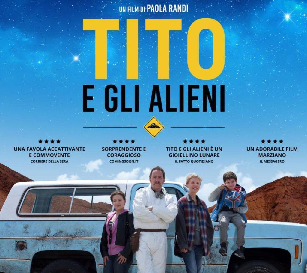 """Cultura Italia – sans frontières in collaborazione con il cinema Grütli presenta il film: """"TITO E GLI ALIENI"""" di Paola Randi Martedì 26 marzo ore 20.45 presso Cinema du Grütli - Ginevra"""